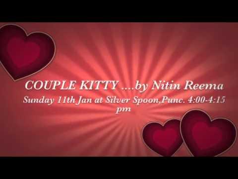 Couple kitty invitation youtube couple kitty invitation stopboris Image collections