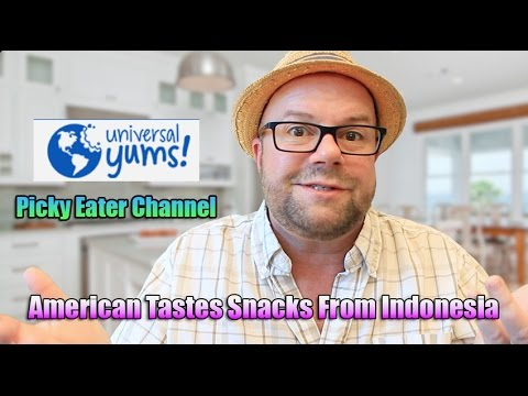 American Taste Tests Indonesian Snacks - Picky Eater Universal Yums + GIVEAWAY