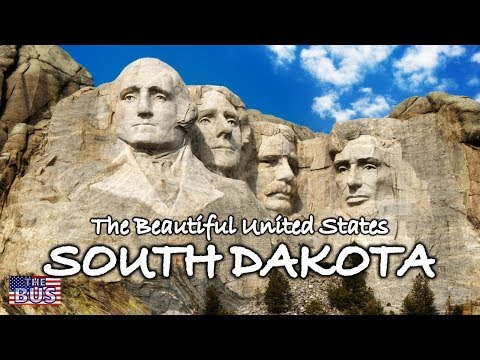 USA State of South Dakota Symbols / Beautiful Places / Song HAIL, SOUTH DAKOTA w/lyrics