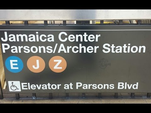 MTA New York City Subway: R160 (E) (J) Trains @ Jamaica Center Parsons-Archer