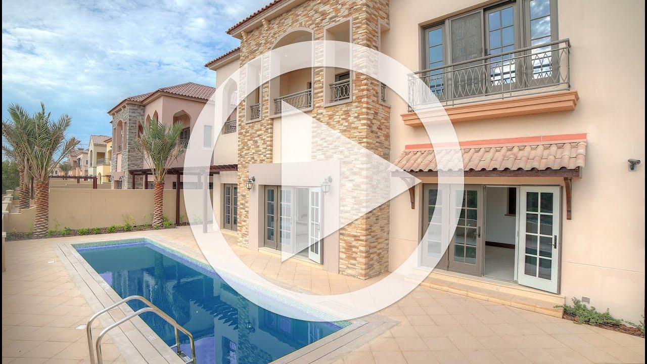 Luxury Dubai Villa Jumeirah Golf Estates Flame Tree