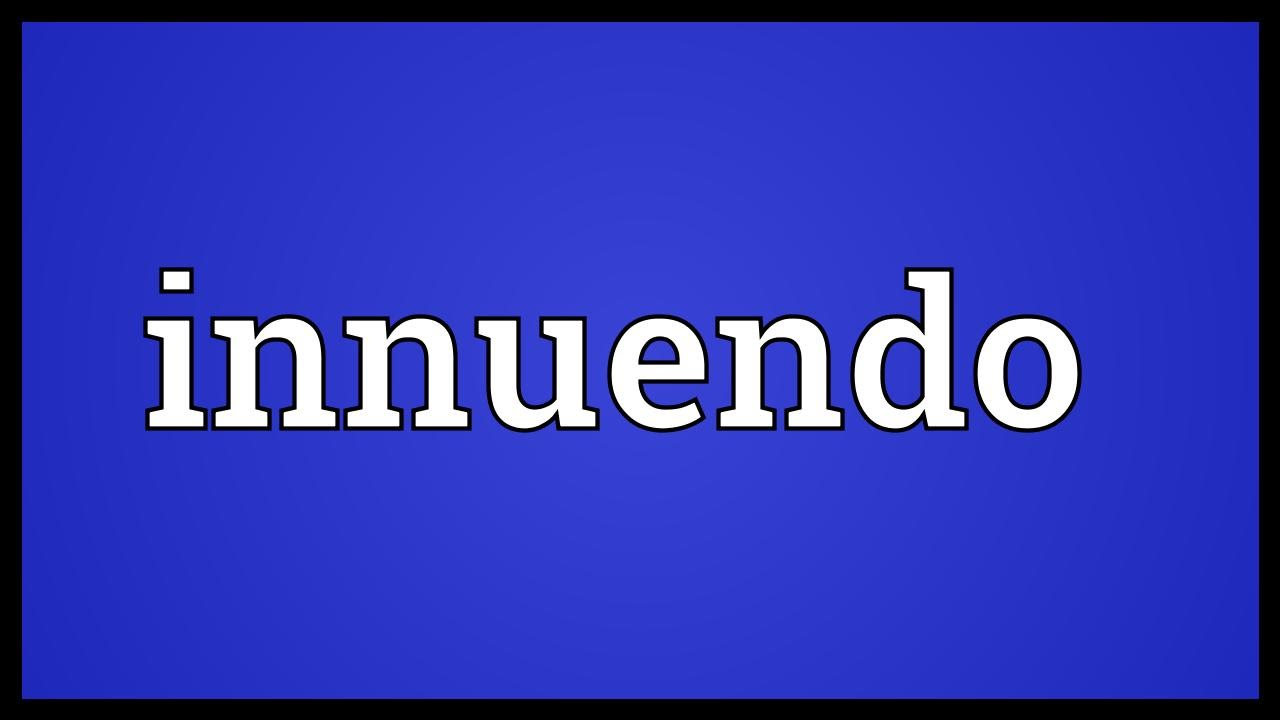 Innuendo Meaning