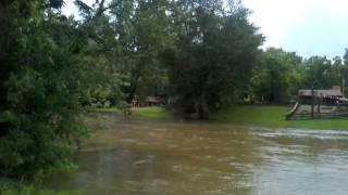 Tuscarawas River Flood Cherry St Bridge Canal Fulton July 2013