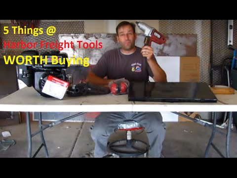 5 Things at Harbor Freight Worth Buying!