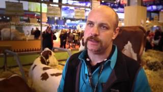 Mickael Thomas: éleveur laitier Montbéliardes (01)