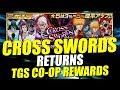 Bleach Brave Souls CROSS SWORDS Vol.1/Vol.2 RETURNS and TGS CO-OP REWARDS