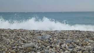Two minutes at Villeneuve-Loubet beach, French Riviera