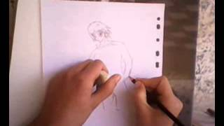 drawing manga in algeria graïne yassine