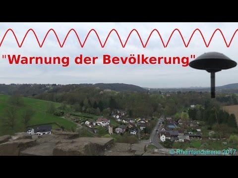 """""""Warnung Der Bevölkerung"""" - Sirenenprobe Im Rhein-Sieg-Kreis - E57-Sirenen+Radiodurchsage"""