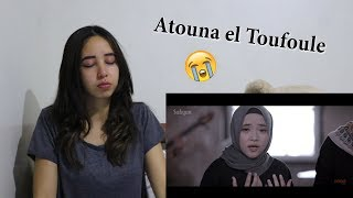 SABYAN - ATOUNA EL TOUFOULE  (COVER ) _ REACTION