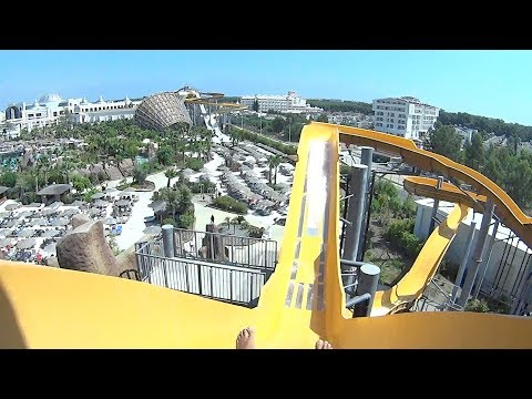 Jet Water Slide at The Land of Legends