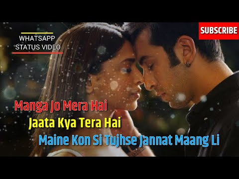 Whatsapp Status Video Song | Maanga Jo Mera Hai | Karan Nanwani | Sad Song | Hearttouching | Lyrics