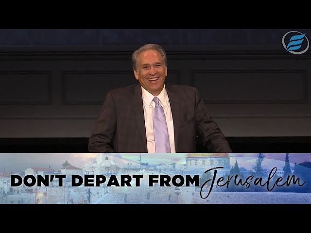 04/04/2021 | Don't Depart from Jerusalem | Pastor David Myers