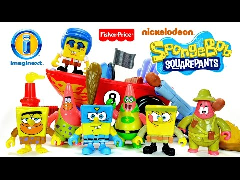 Imaginext® 2016 SpongeBob Squarepants Nickelodeon ToysRUs Exclusive Fisher-Price® Set 2 Unboxing