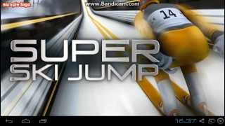 Supr Ski Jump ( android igra ) gameplay