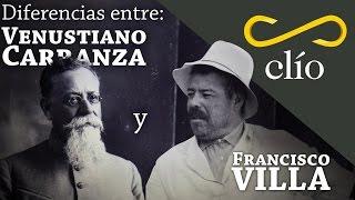 Diferencias entre Venustiano Carranza y Pancho Villa