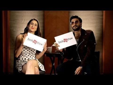 Simmba On Set | Ranveer Singh and Sara Ali Khan | BookMyShow