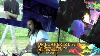 OMEGAHERTZ live @ Samara Russia Per Somnia fest 11 jun 2010 * omegahertz.gr