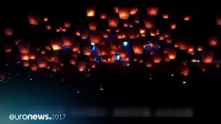 Happy New Year 2018 from euronews