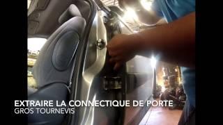 Citroën C5 : dépose de la porte arrière