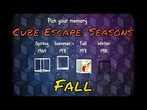 Cube Escape: Seasons | Fall Walkthrough | Rusty Lake Gameplay (with subtitles)