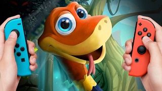 Let's Play Snake Pass, a 3D Platformer That Controls Like Nothing Else - Up At Noon Live!