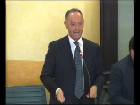 5 aprile 2016: Consiglio straordinario su Veneto Strade. L'intervento del Consigliere Marino Zorzato