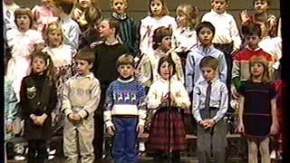1990-1-18   Holley's 1st grade Olmsted music program (clip 3 of 3)