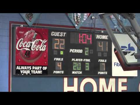 Highlights of Brainerd VS Loudon High School Basketball Game 02 27 2016