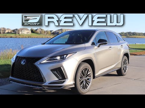 2020 Lexus RX 350 F Sport Review | A Step Towards Perfection