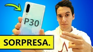 El Huawei P30 es MEJOR que el P30 PRO...