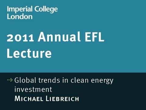 Global trends in clean energy investment - Michael Liebreich
