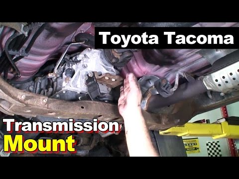 2004 Toyota Tacoma Transmission Rubber Mount & Driveshaft Center Carrier Support Bearing Clunk