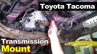 2004 Toyota Tacoma Transmission Mount And Carrier Bearing(Link To Center Support Bearing: http://amzn.to/2fialUd Link To Auto Transmission Mount: http://amzn.to/2fvMJjD 02:36 - Leave Car In Neutral 02:47 - Mark ..., 2016-10-15T13:00:02.000Z)
