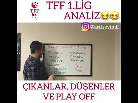 TFF 1.Lig ANALİZ 😂😂😂 (ÇIKANLAR, DÜŞENLER VE PLAY OFF)