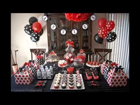 Cool Mickey Mouse Birthday Party Decorations Ideas