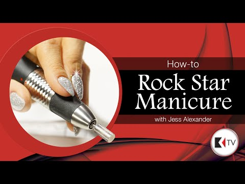 KUPA TV How-to Rock Star Manicure with Jess Alexander