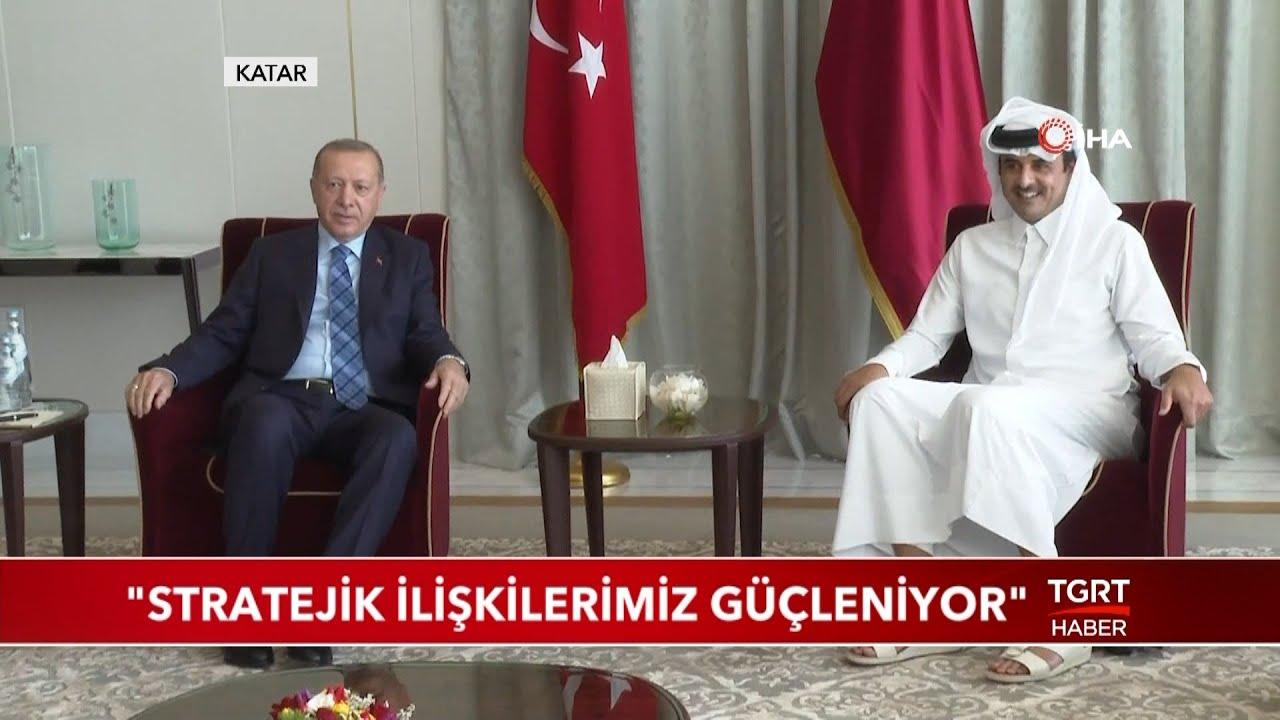 """Katar Dışişleri Bakanı: """"Stratejik İlişkilerimiz Güçleniyor"""""""