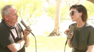 St. Vincent Interview at Coachella 2015