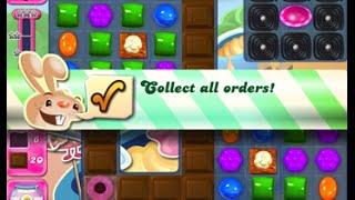 Candy Crush Saga Level 1598 walkthrough (no boosters)