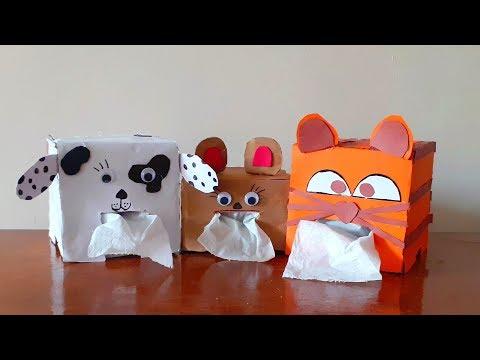 DIY Tissue Paper Box Cover