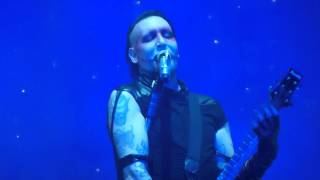 (HD) Marilyn Manson - Slo-Mo-Tion Live 01-12-2012 @ Rockhal, Luxembourg