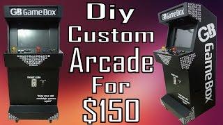 Diy- Playstation Custom Arcade | Walk-through Of The Arcade