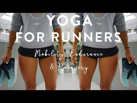 YOGA FOR RUNNERS | REST AND RECOVERY | 30 MINUTE | REAL TIME