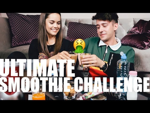Ultimate SMOOTHIE CHALLENGE sa Marijom Žeželj