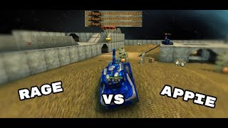 TANKI ONLINE  - FFG ( FIGHT FOR GOLD)  VS APPIE TM