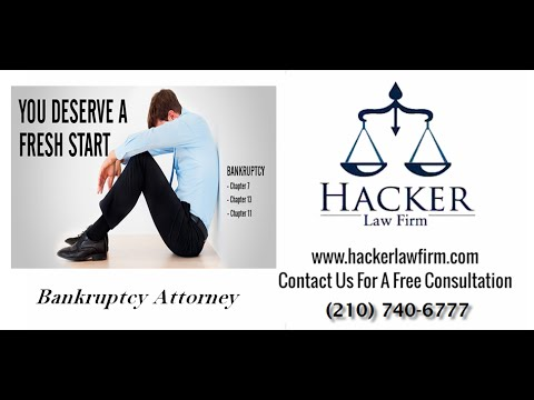 San Antonio Bankruptcy | Bankruptcy in San Antonio | San Antonio bankruptcy attorney Call (210) 740-6777 http://www.hackerlawfirm.com  Need a San Antonio bankruptcy attorney? Steve Hacker offers San Antonio and communities throughout ...