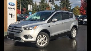 2018 Ford Escape SE Ecoboost W/ Heated Seats Review|Island Ford