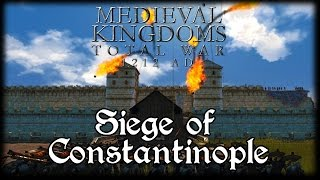 SIEGE OF CONSTANTINOPLE! Total War Attila MEDIEVAL MOD Early Access Gameplay!