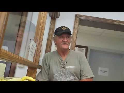 Paying fine with pennies, threatened to be arrested.